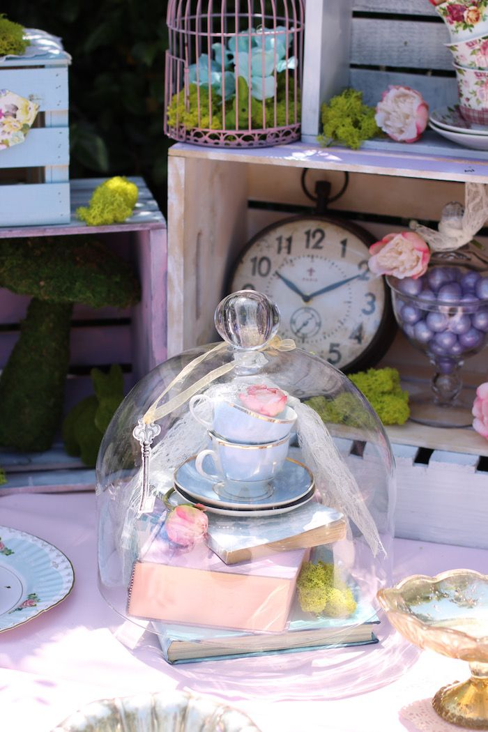 Tea party supplies from Shabby Chic Alice