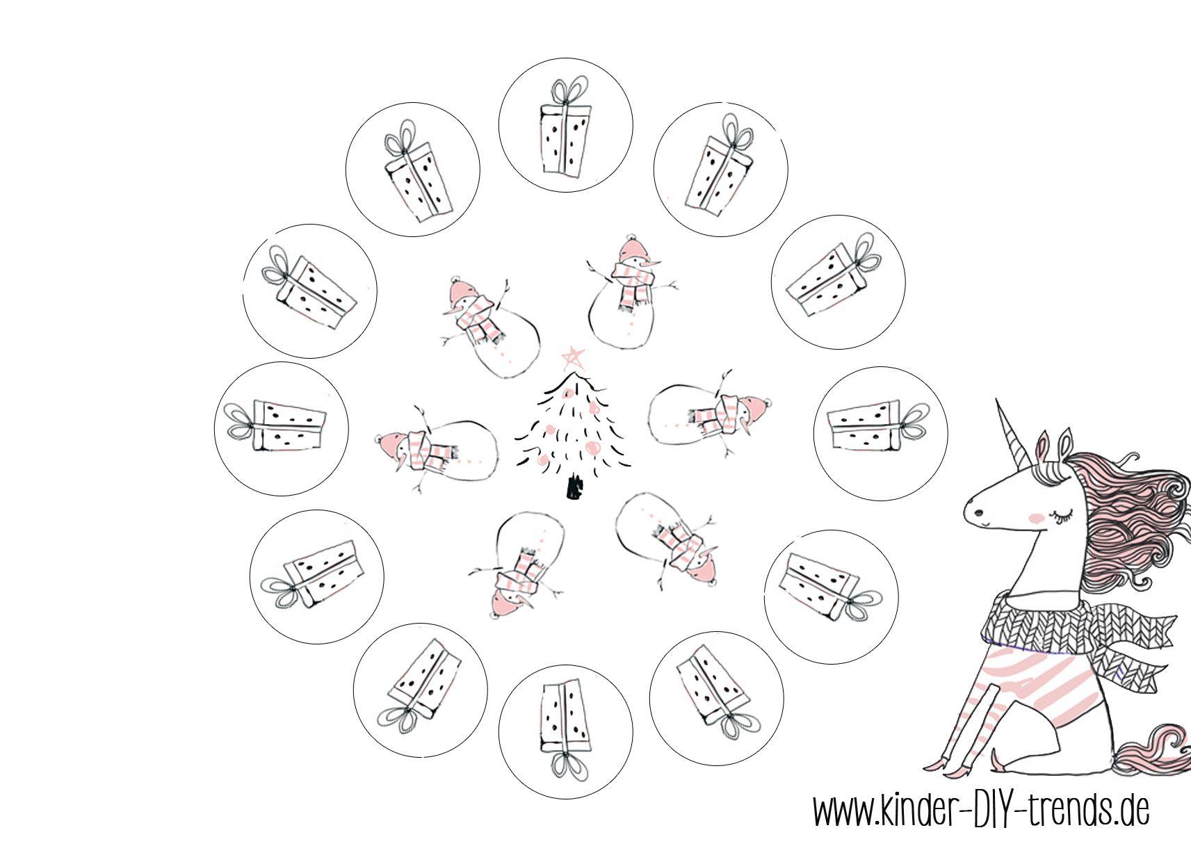 Mandala #kostenlos #Vorlage downloaden #Einhorn #unicorn #template ...