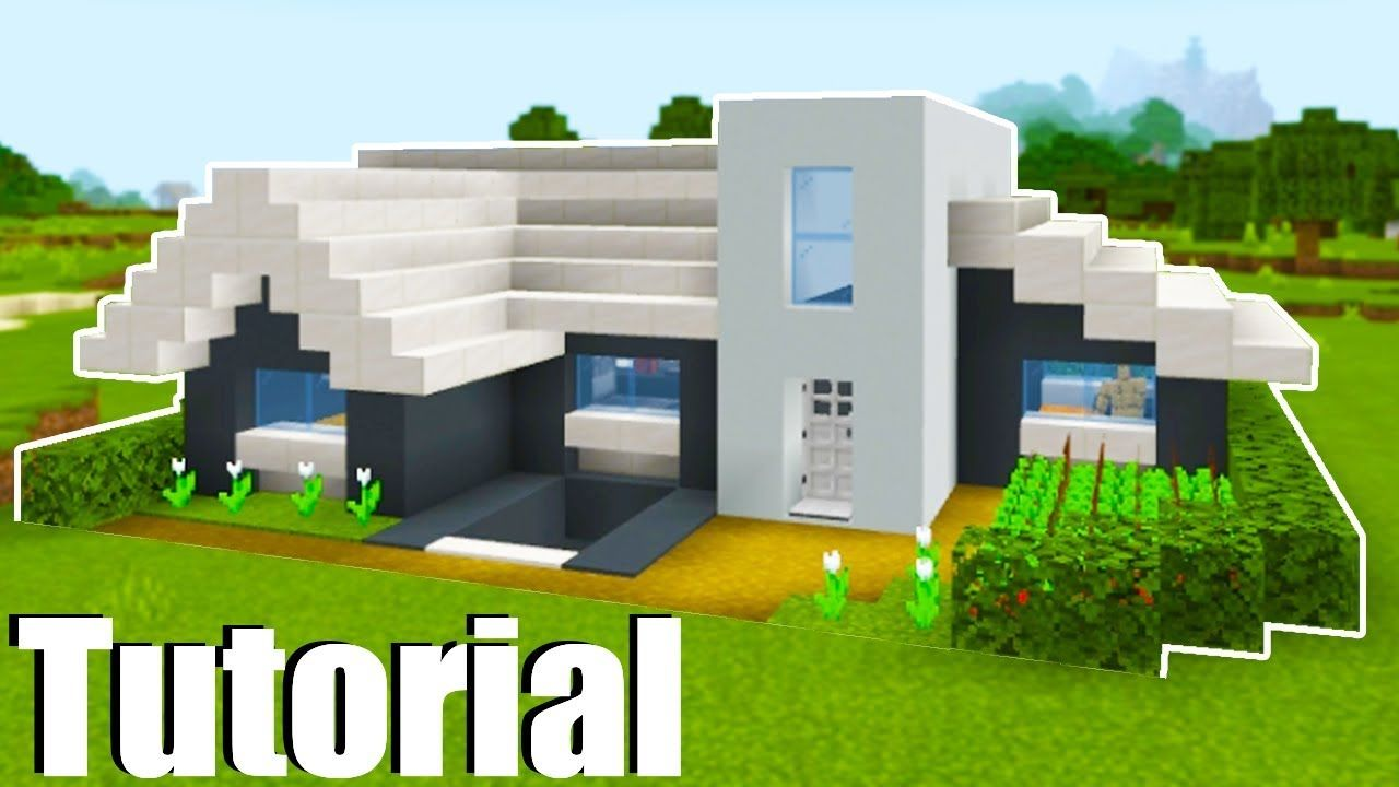 Minecraft Tutorial: How To Make A Modern House With a ...