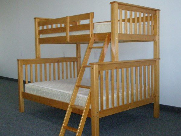 Bunk Beds Twin Over Full End Ladder Dark Cherry Bunk Beds With Stairs Bunk Beds Twin Over Full Bunk Bed