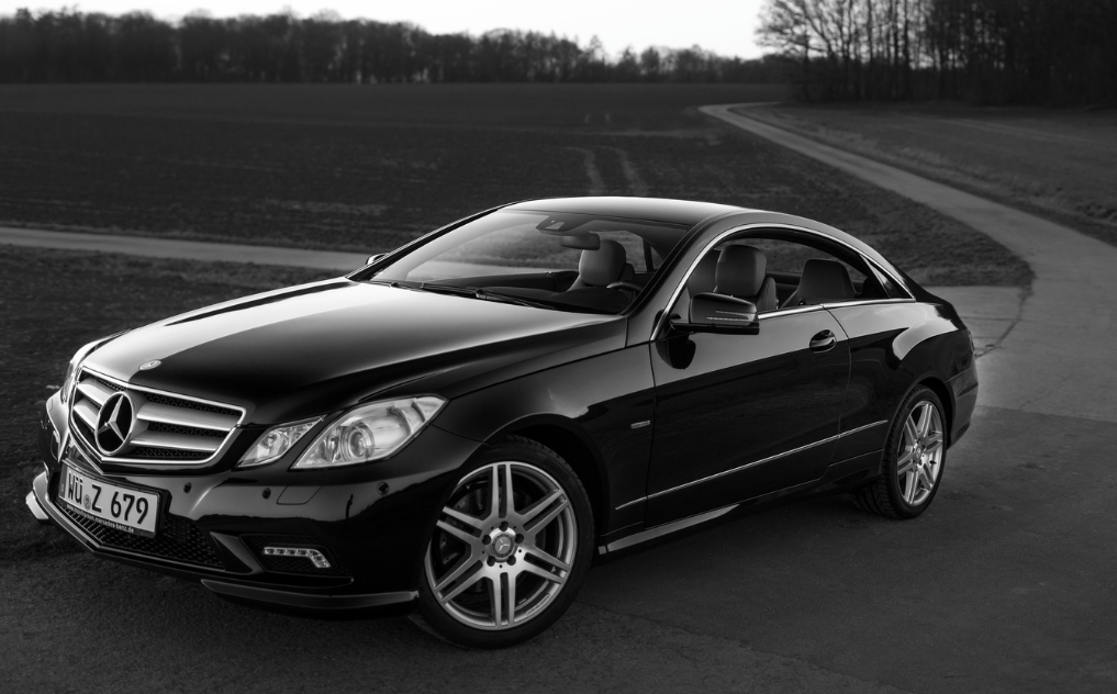 Mercedes benz e350 coupe all black int ext w tint for Mercedes benz 350 coupe