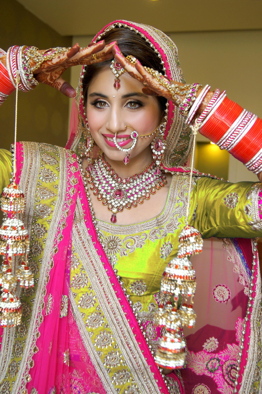 indian bridal makeup   Indian bridal makeup by kajal ...