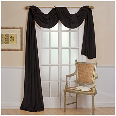 Voile Window Scarf Window Scarf Curtains Living Room Scarf Curtains