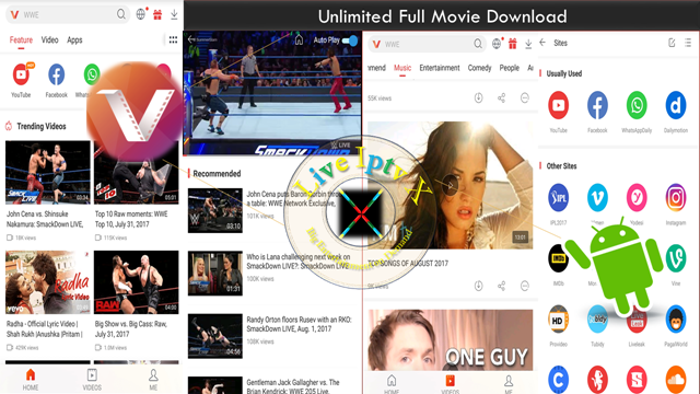 Best Streaming TV Online - Vidmate Live TV APK For Android