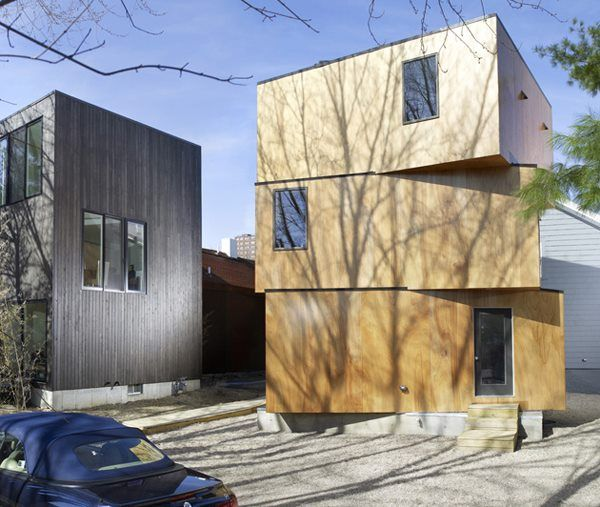 company UNI – created XS House in Cambridge, MA. This compact house on