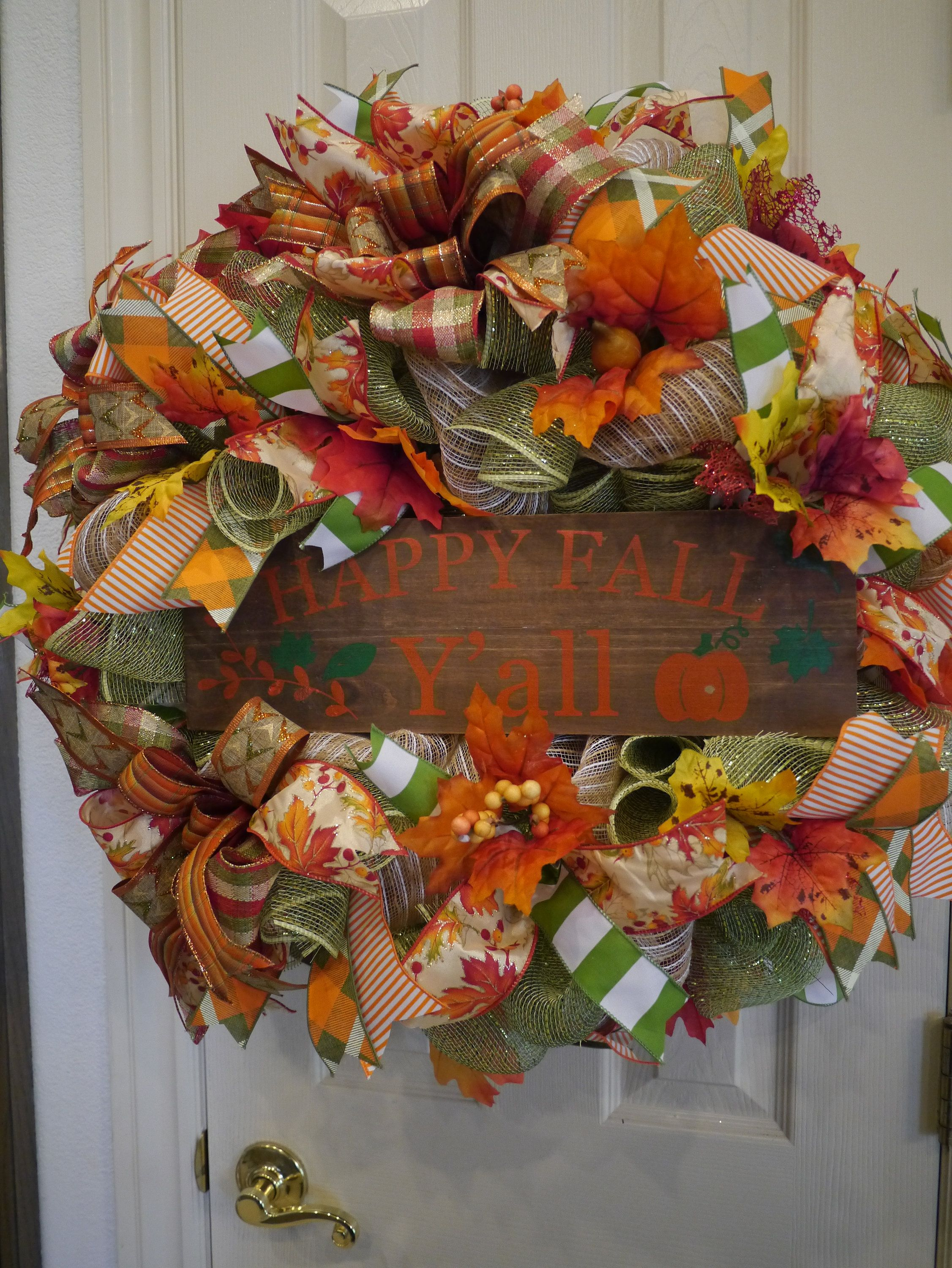 Fall Wreath, Fall Wreath For Front Door, Everyday Wreath, Autumn