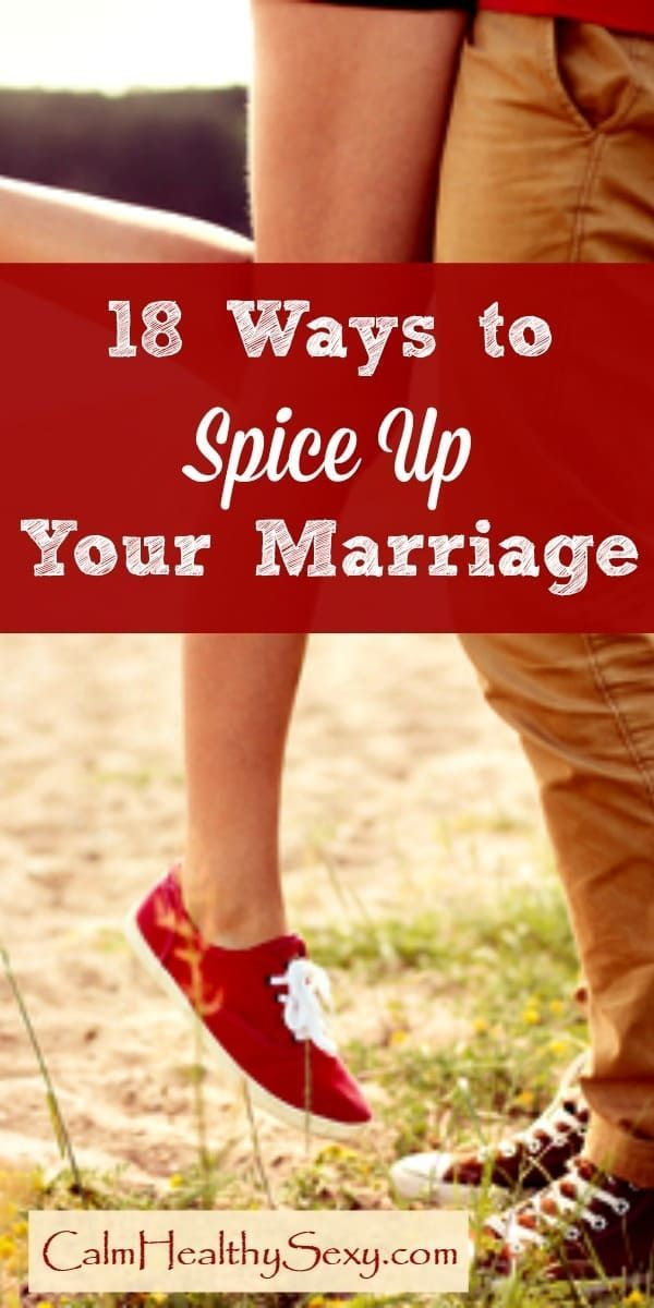 Ways to spice up a marriage sexually