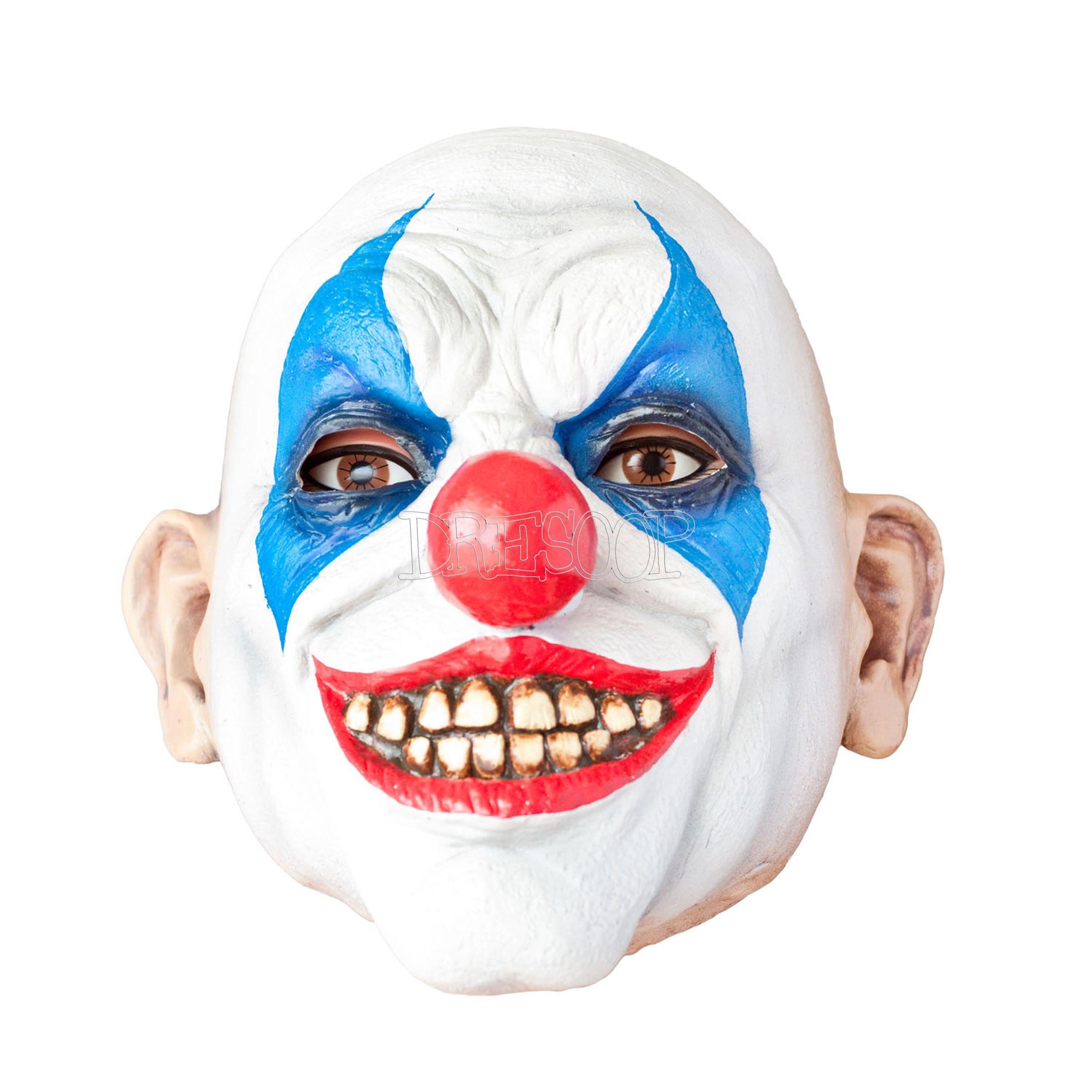 Máscara Clown Happy látex en 2020 Payasos, Mascaras