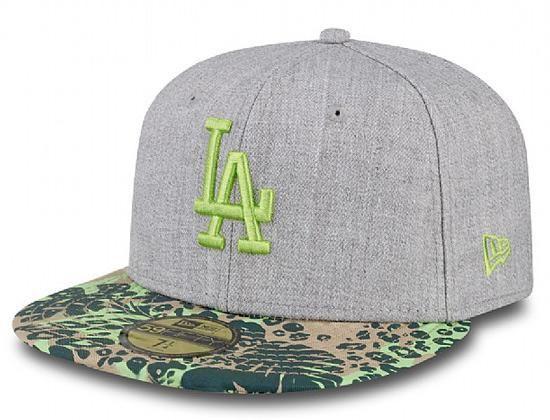 New Era Baseball Cap 9FIFTY Logo Fade LA Dodgers Black Blue