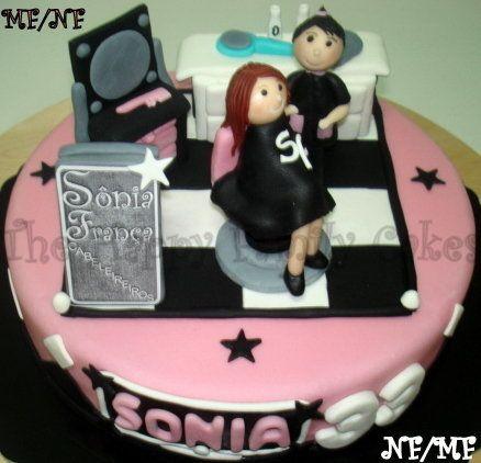 Hy Cake Hairdresser By Hyfamilycakes
