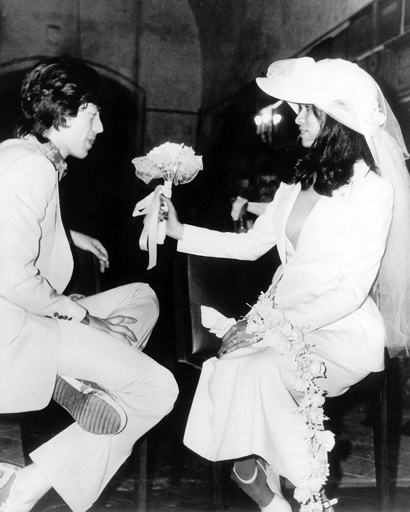 mick jagger and bianca jaggers wedding celebrity