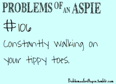 how to stop tippy toe walking