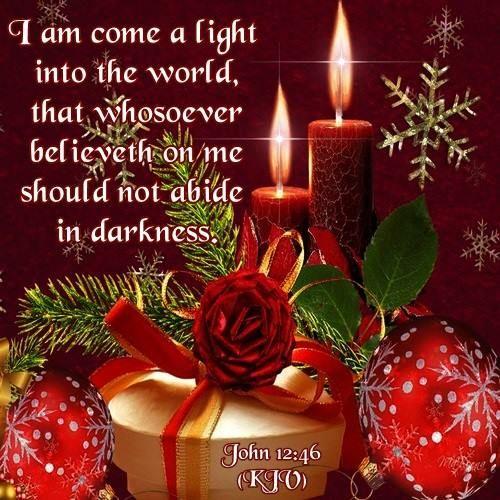 JOHN 12:46 (1611 KJV !!!!)