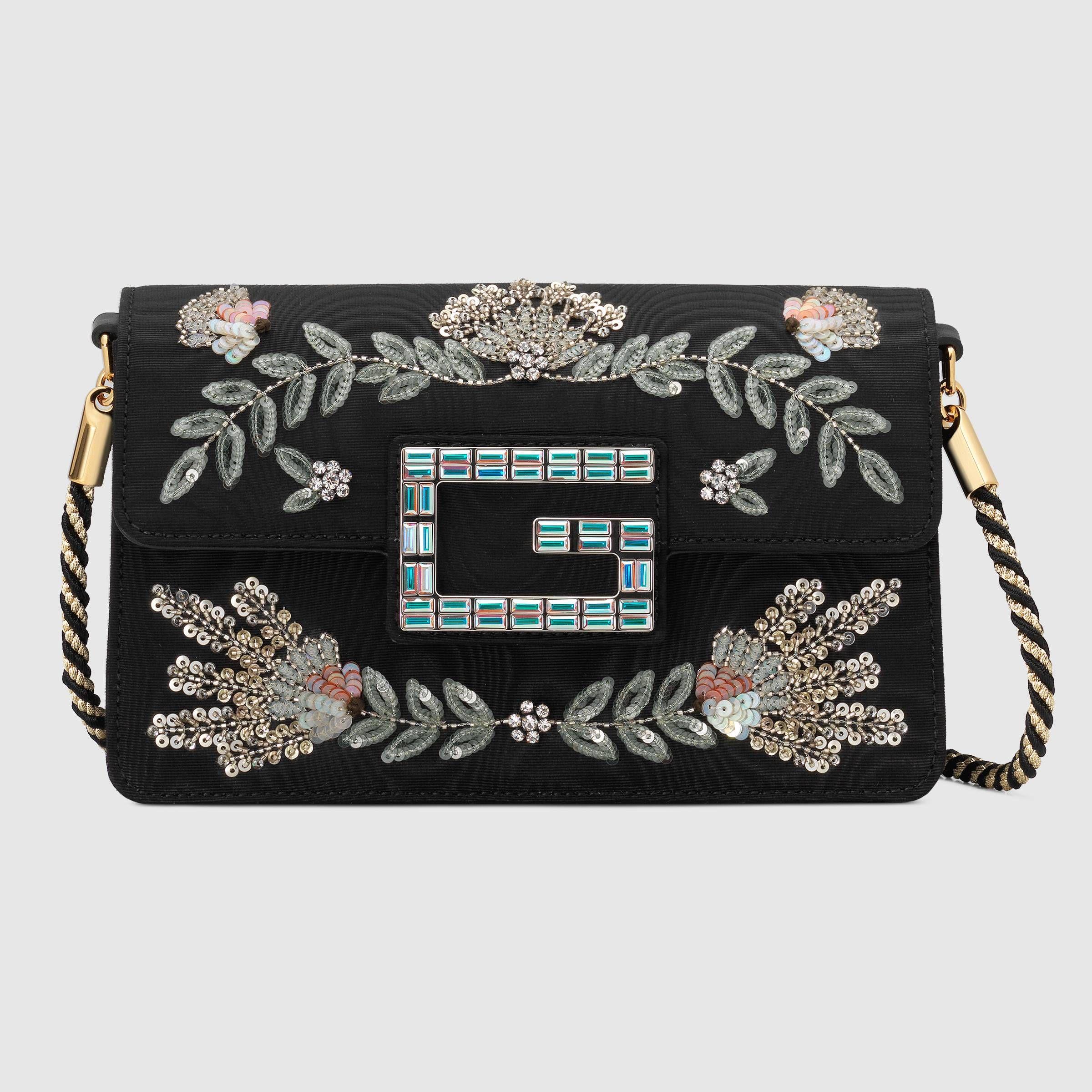 da349fb597d5 Shoulder bag with Square G - Gucci Women's Shoulder Bags 5442429W8AX1098
