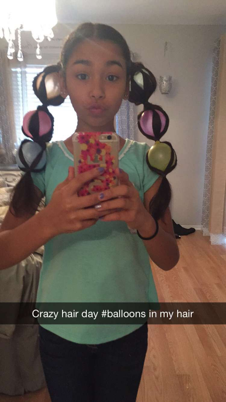 """great crazy hairstyles for """"wacky hair day"""" at school 