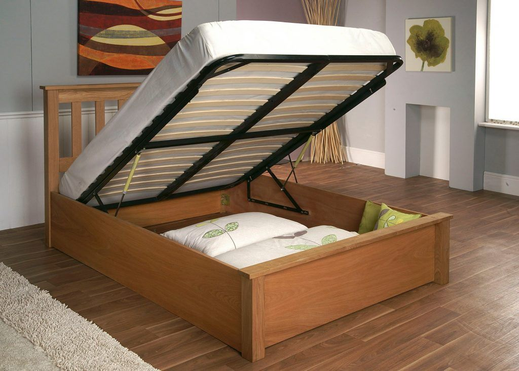 Furniture Bedroom Leirvik Brown Pine Wood Headboard Combined