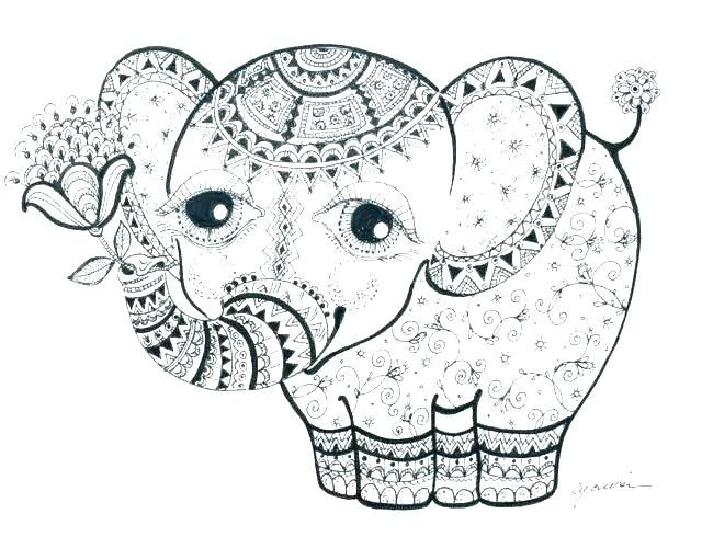 Elephant Coloring Pages Elephants Coloring Pages Elephant Coloring Pages Printable Page Bab Elephant Coloring Page Animal Coloring Pages Mandala Coloring Pages