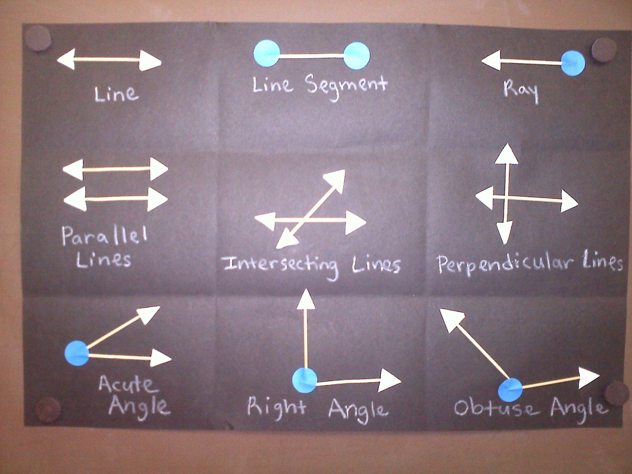 Types Of Lines And Angles Activity