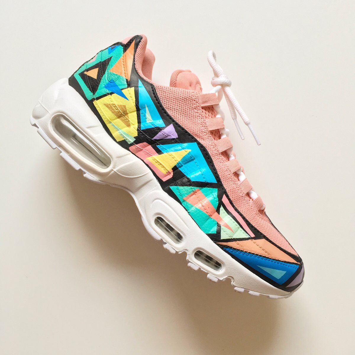 c4d5f1c3bef Abstract Art Nike Air Max 95 by Kylie Boon