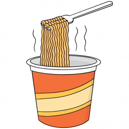 Download Vector Set Of Noodle Stock Illustration Vector Noodles Illustration