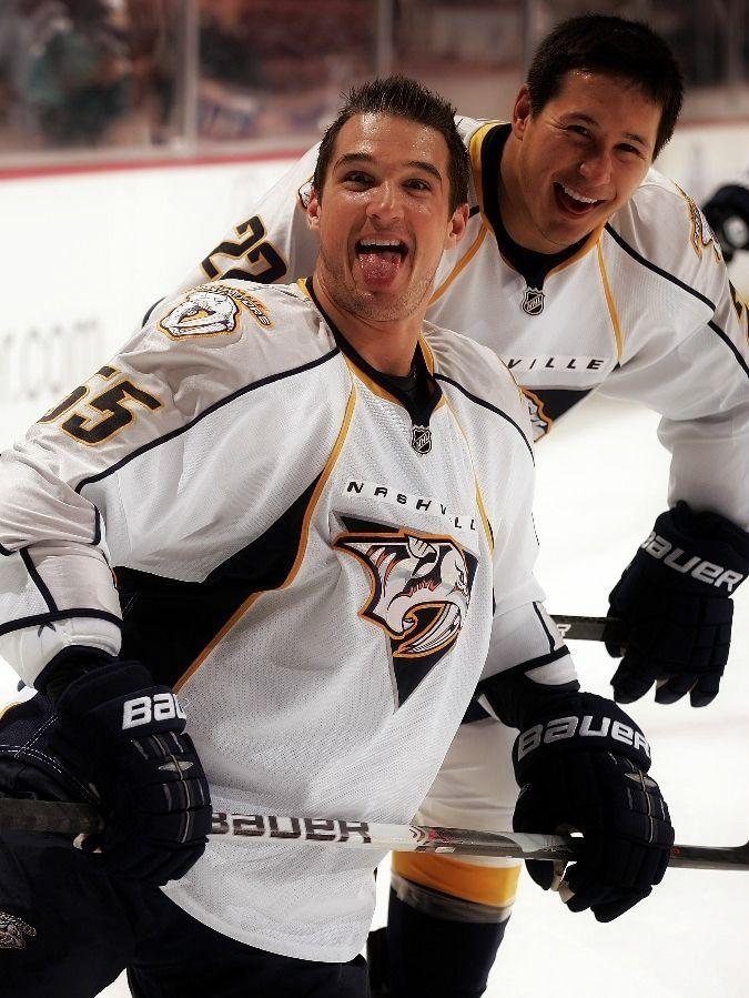 Pin By Gina Montano On Good Ole Hockey Game Nashville Predators Hockey Hot Hockey Players Predators Hockey