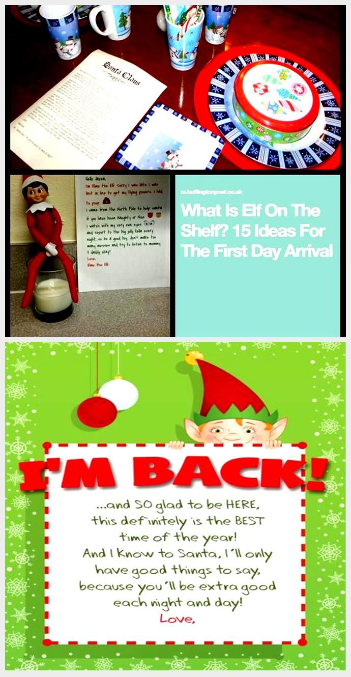 Elf on the shelf adoption papers, letter from Santa Claus