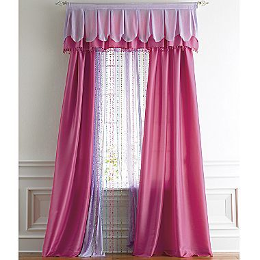 Jcp Home Audrina Rod Pocket Drapery Panel Jcpenney On Clearance