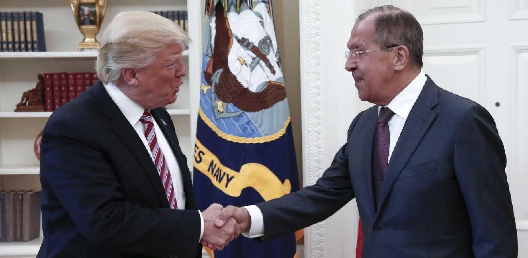BREAKING: After Team Trump Denies Trump Shared Classified Information With Russia, Trump Tweets That He Did 'Share With Russia'