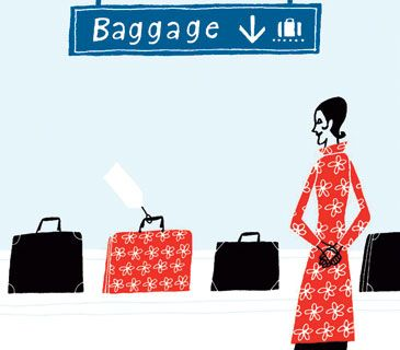 Air Travel Tips - packing beauty products, plane etiquette, the best rolling luggage, tips from air-travel insiders | RealSimple.com