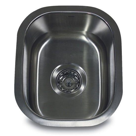 Small Prep Sink With Rounded Corners Kitchensource Pinterest Followerfind Undermount Bar Sink Stainless Steel Undermount Bar Sink