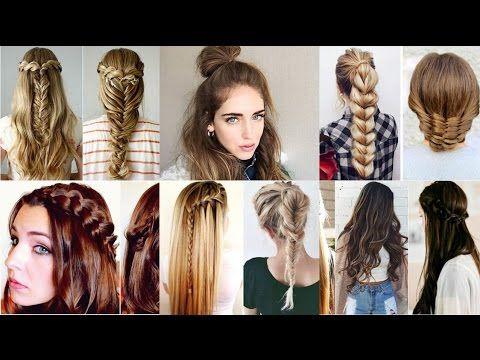 Los mejores PEINADOS DE INSTAGRAM Recopilacion // Hairstyles Tutorial Co...