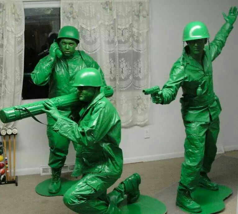 Army men Epic halloween costumes, Best group halloween