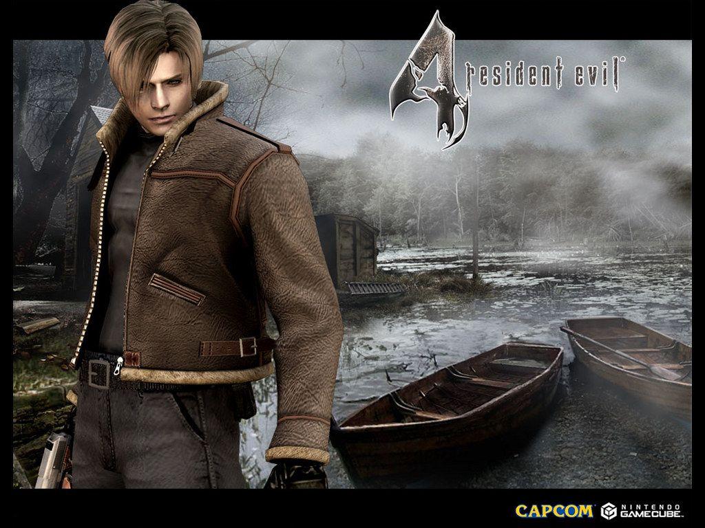 Games Wallpaper Resident Evil 4 Leon Resident Evil Resident