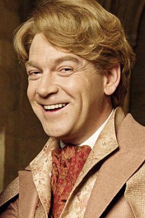 Kenneth Branagh Como Gilderoy Lockhart