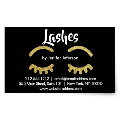 Lashes business card sticker glitter gifts personalize gift ideas unique glitter style pinterest business cards
