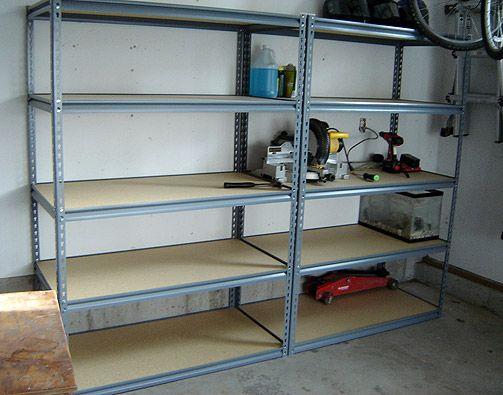 Garage Storage Shelves Shelving Garage Wall Shelving