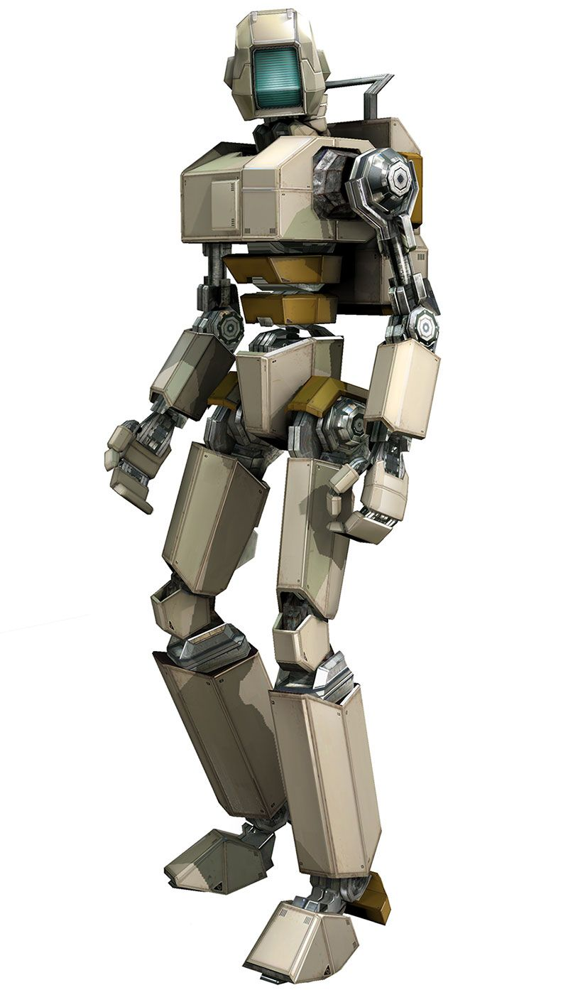 i robot characters
