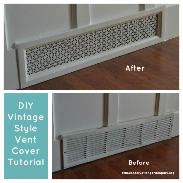 Decorative Wall Vent Covers vent covers youll love wayfair Pinspiration Diy Vintage Air Vent Covers Jordan Valley Home