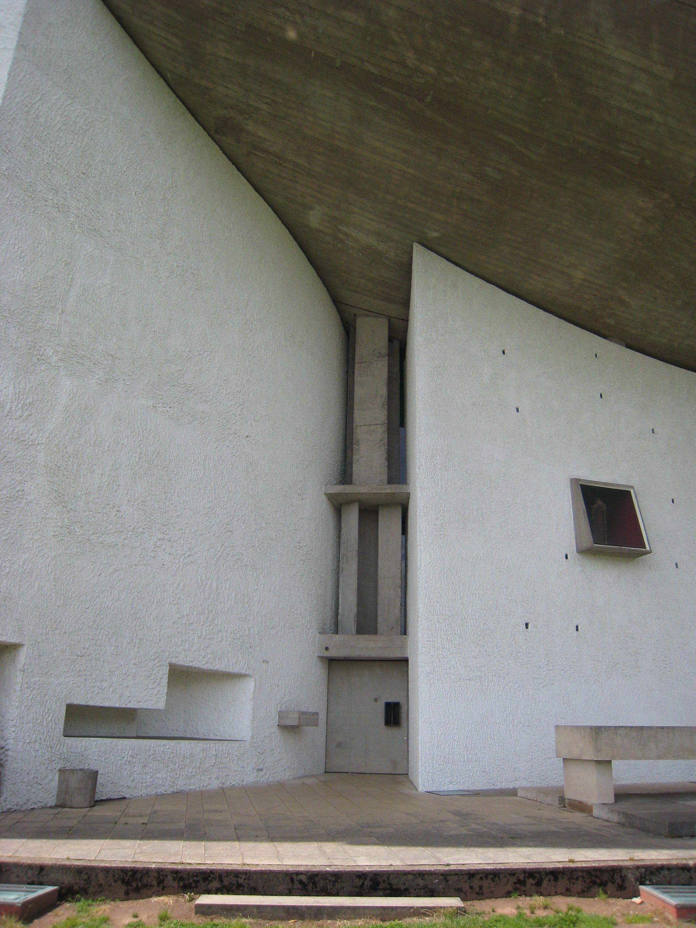 Ikea Bogenle chapel of notre dame du haut ronch designed by le corbusier