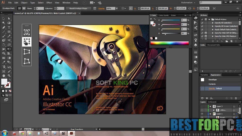 Download Adobe Illustrator Cc 2020 Latest Version For Windows 10 8 1 8 7 Xp 64 Bit X64 Adobe Illustr Logo Design Tutorial Adobe Illustrator Digital Graphics