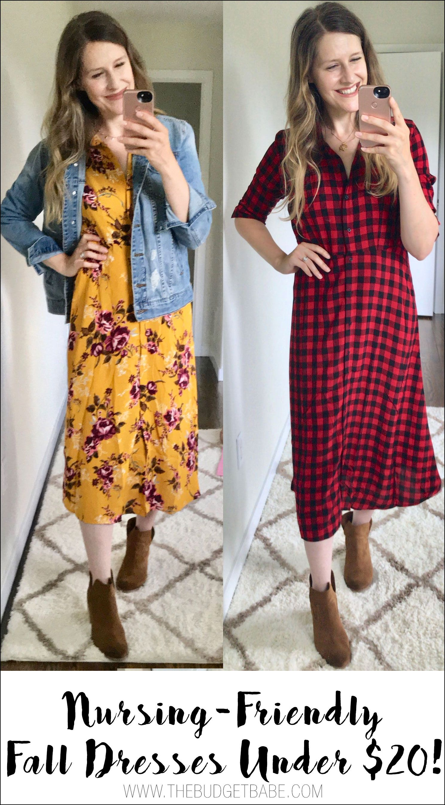 e651aa06355 My Latest Fall Buys Under  20 at Walmart  Midi Dresses