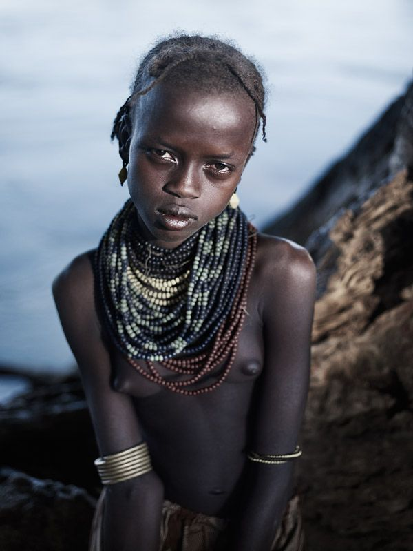 Amateur African Tribe Karo Ethiopia Amour Angels 1