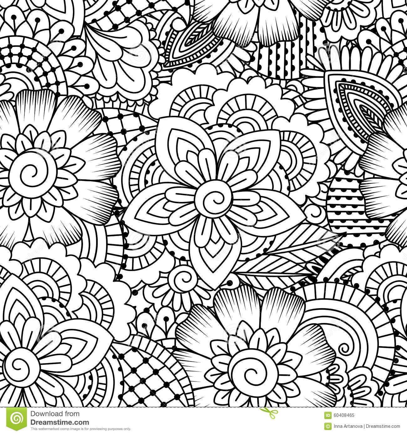 Seamless Black And White Pattern. Download From Over 38