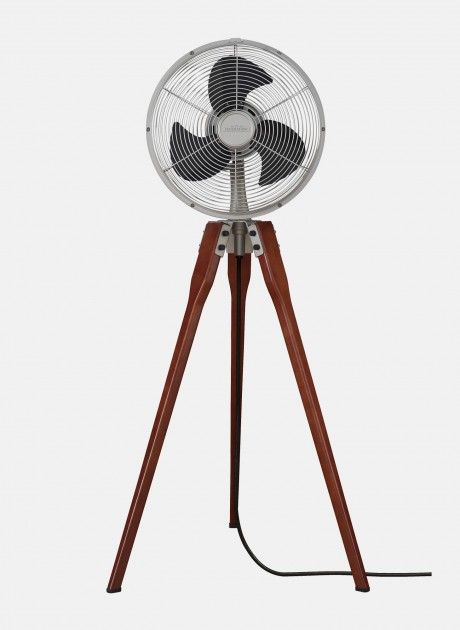 Arden By Fanimation Satin Nickel Floor Standing Fan Floor Fan