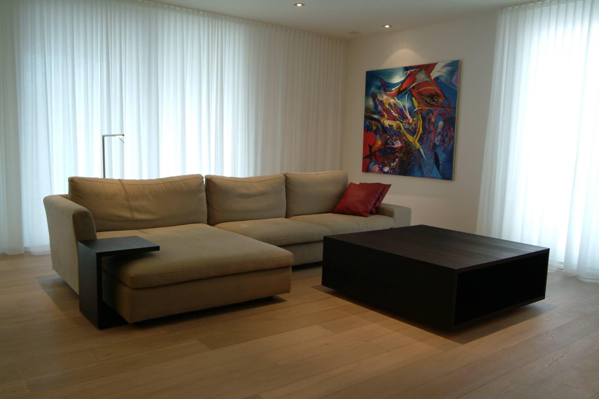 Interieurinspiratie. Inrichting van woonkamer, living. Modern ...