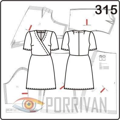 3b8fd8102fd Для выкройки платья с отрезной юбкой по косой
