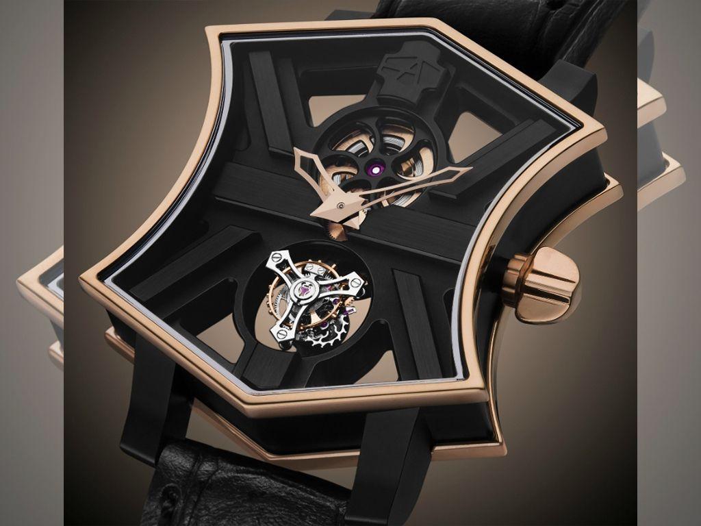 Dos grandes obras de arte de la relojera ArtyA