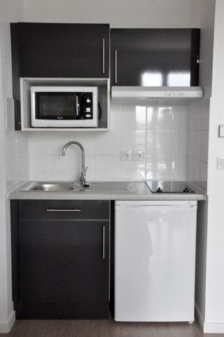 Pin by Sandra Orellana on AC front Pinterest Studio apartment - fixation meuble haut cuisine ikea