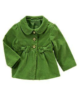 Swing coats on little girls are just too cute... and mine looks great in green!