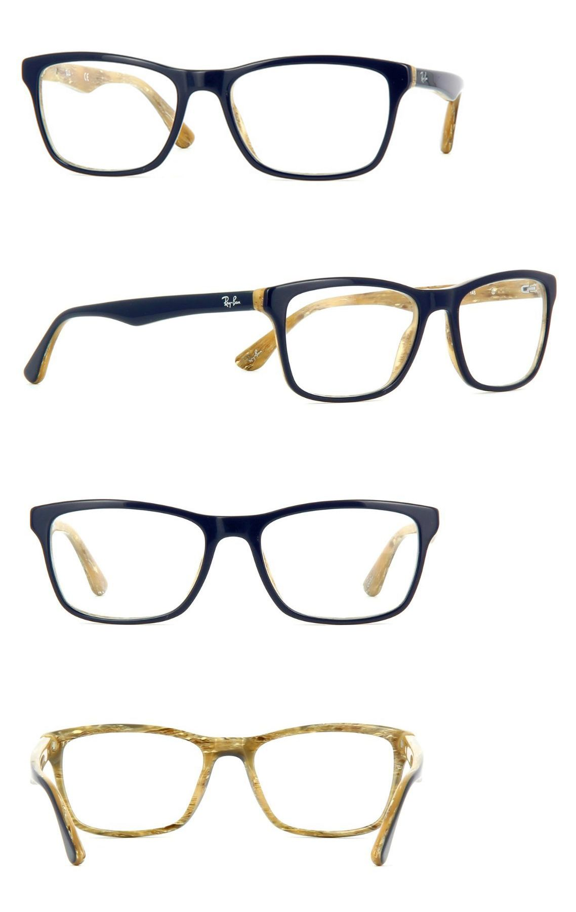eyeglass frames new authentic ray ban frames rb5279 5131 blue with beige interior 55 - Ebay Eyeglass Frames